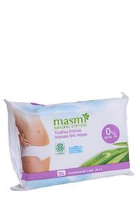 Organic Cotton Intimate Wet Wipes